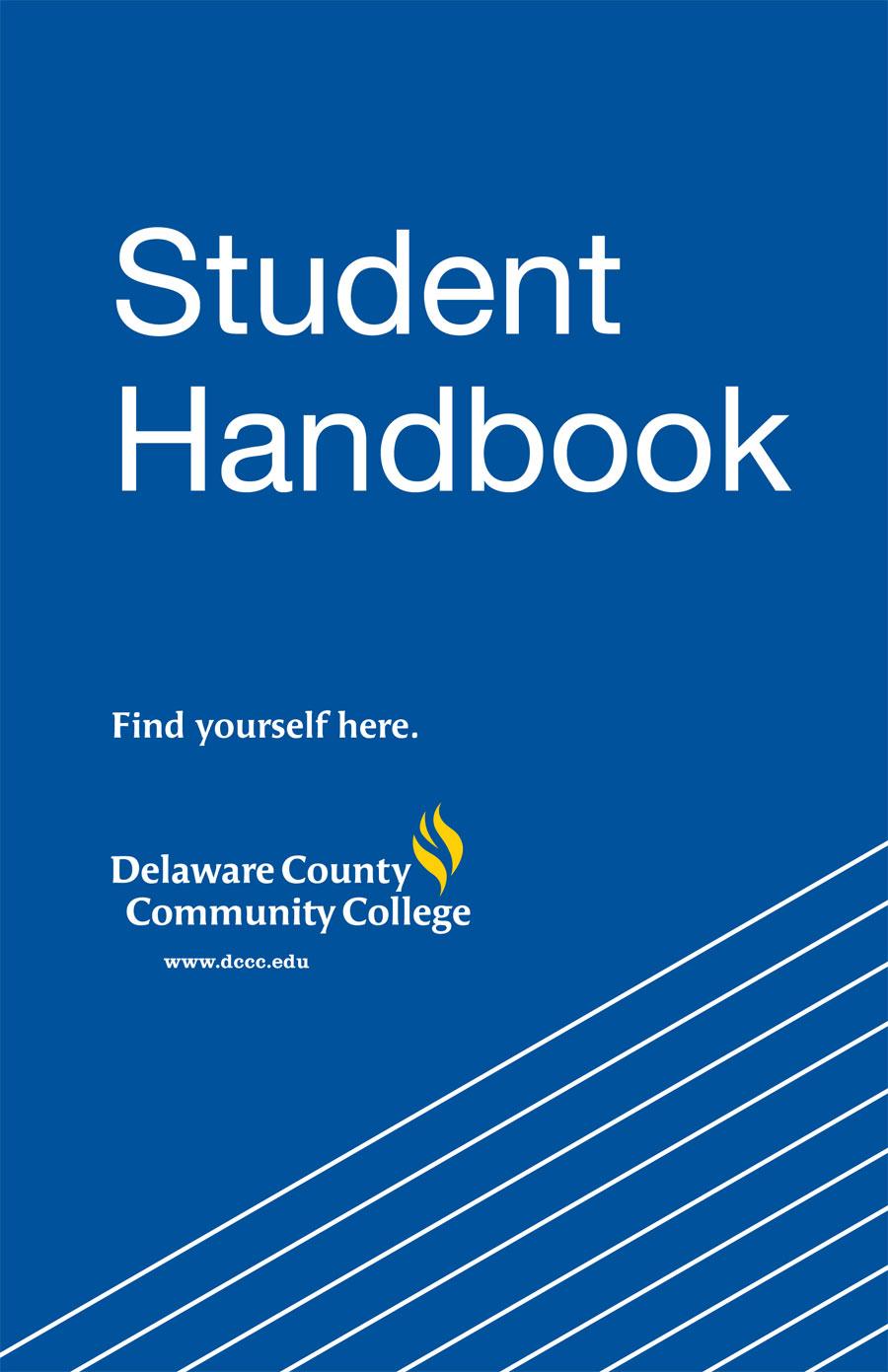 Student Handbook - Delaware County Community College Within Delaware County Community College Calendar