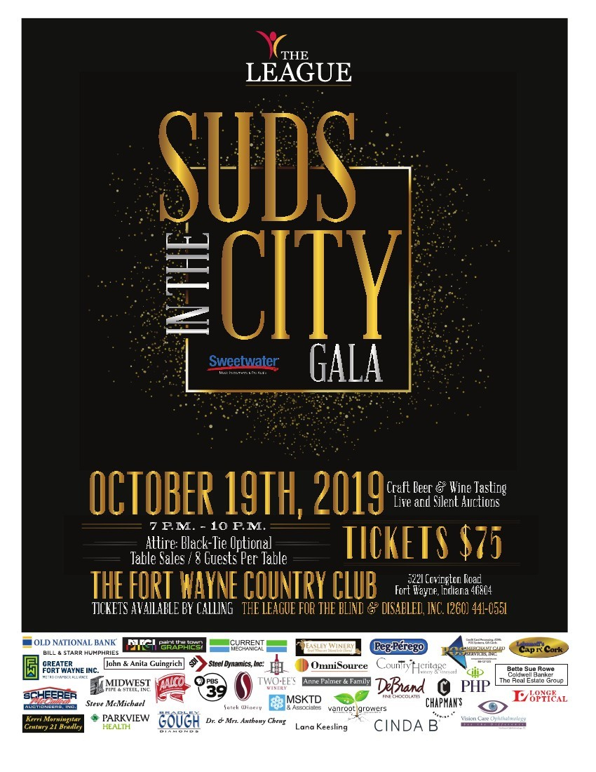 Suds In The City | The League Within Fort Wayne Events Calendar 2021