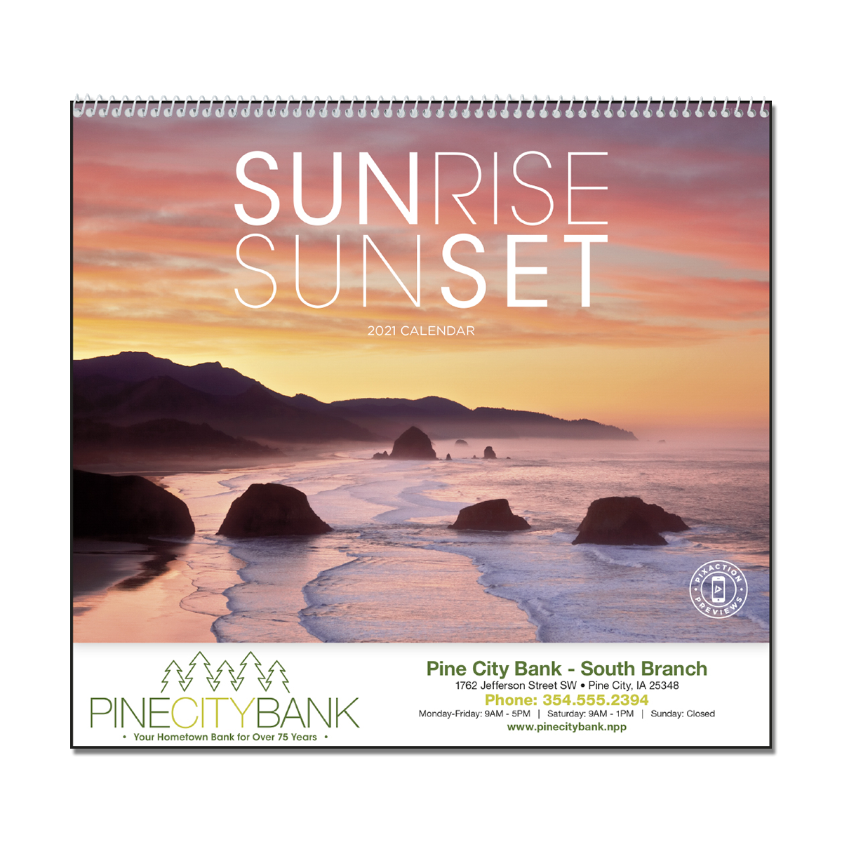 Sunrise Sunset Wall Calendar Throughout Sunrise And Sunset Calendar 2021