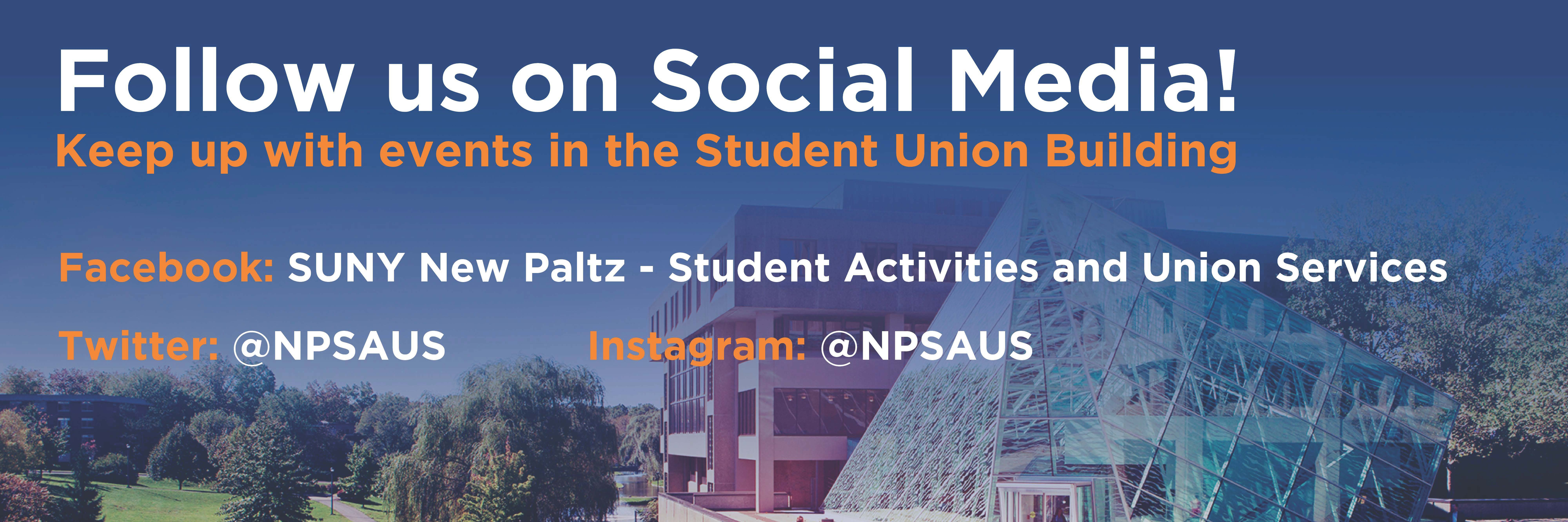 Suny New Paltz – Office Of Student Activities And Union Services In Suny New Paltz Calendar