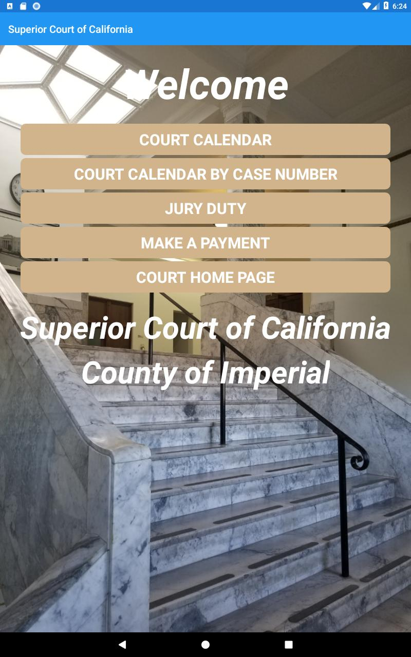 Superior Court Of Ca Imperial Для Андроид - Скачать Apk Inside Imperial County Superior Court Calendars
