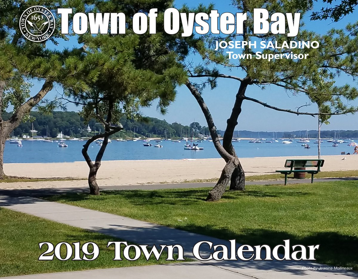 "Supervisor Saladino On Twitter: ""the 2019 Town Of Oyster Bay Within Town Of Oyster Bay Calander"