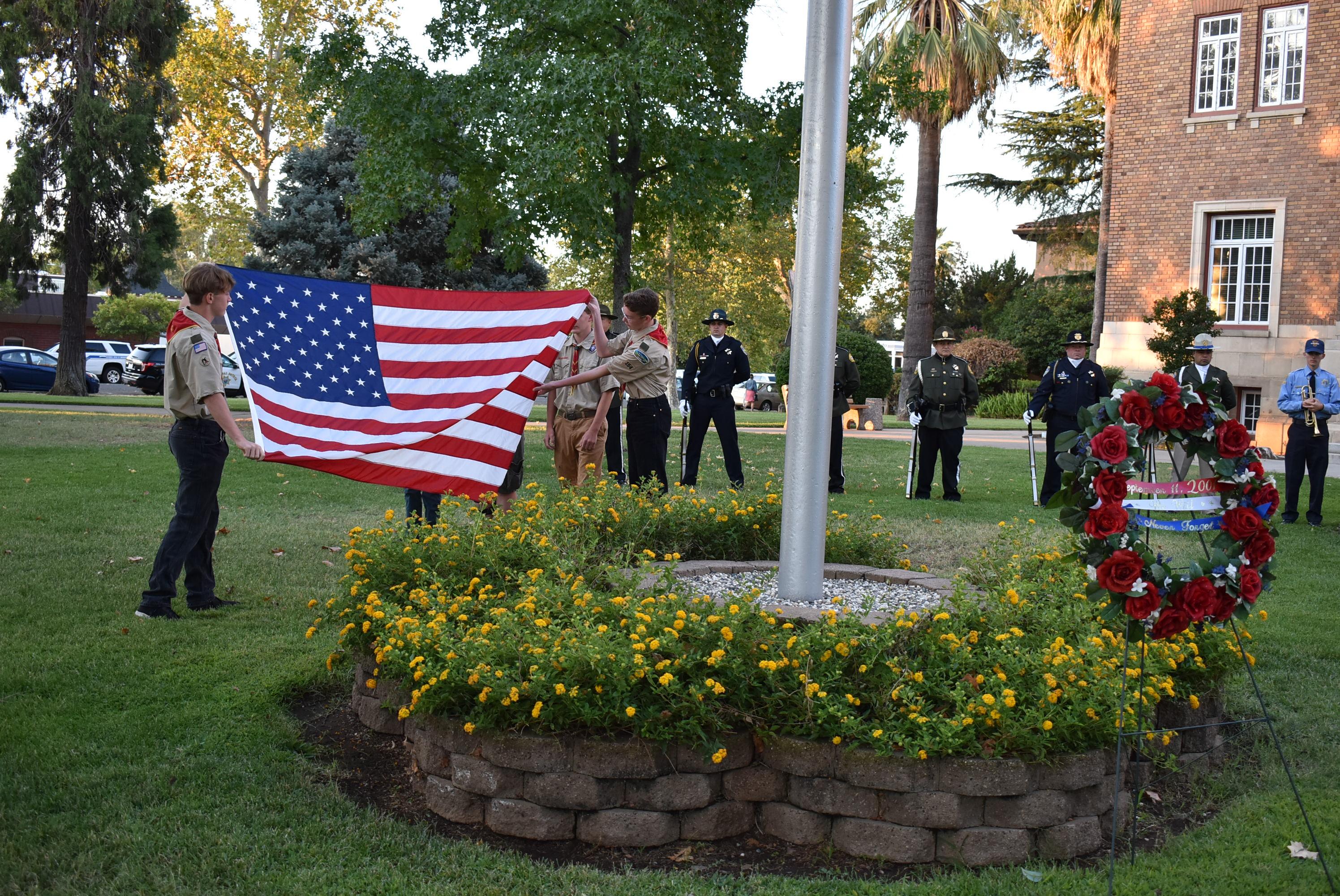 Tehama County Honors Fallen Of Sept. 11 Terrorist Attacks For Tehama County Court Calendar