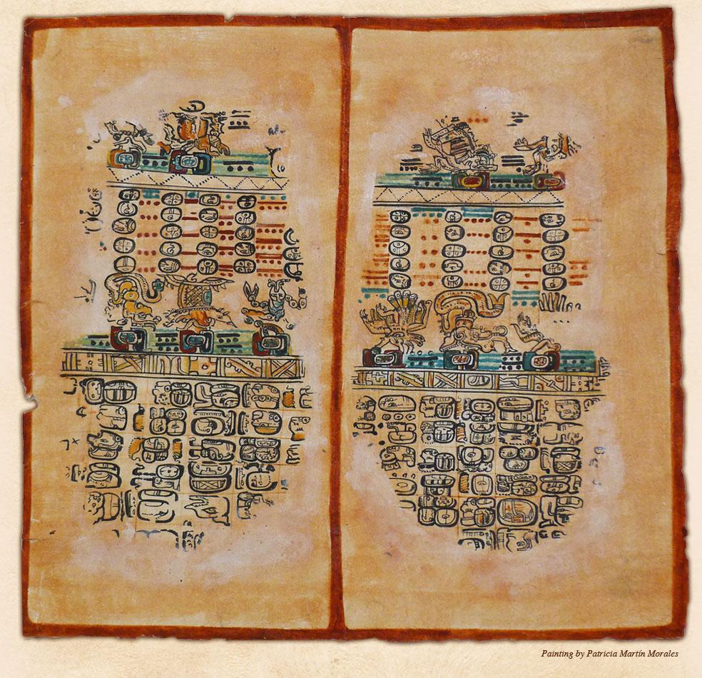 The Calendar System | Living Maya Time With Regard To How To Read A Mayan Calendar
