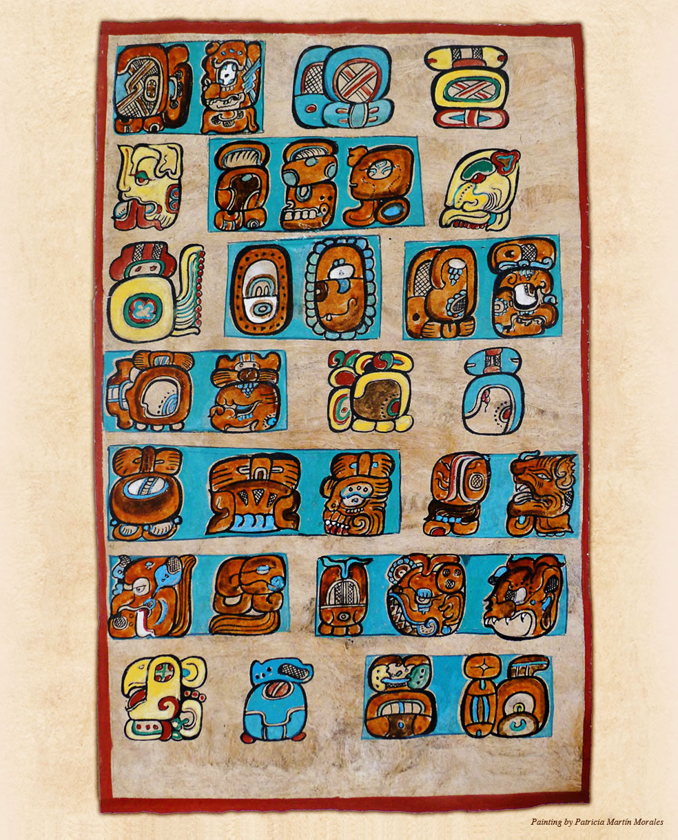The Calendar System | Living Maya Time Within Reading A Mayan Calendar