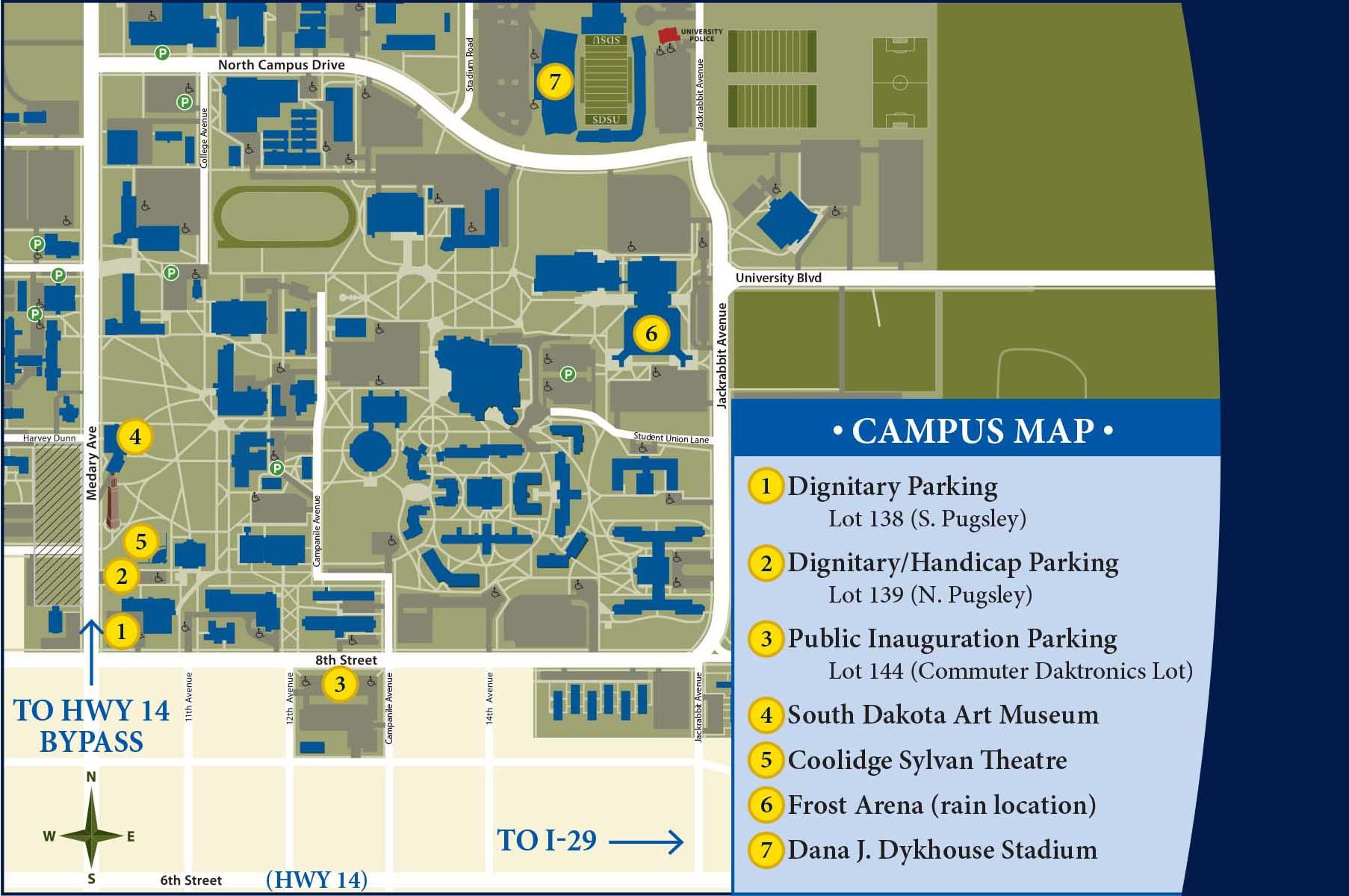 The Inaugural Celebration For Barry H. Dunn | South Dakota Intended For South Dakota State University 2020 Academic Calendar