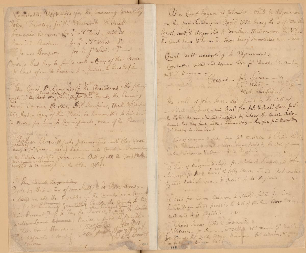 The Storm Of 1752   Nc Museum Of History With Regard To Onslow County Court Schedule