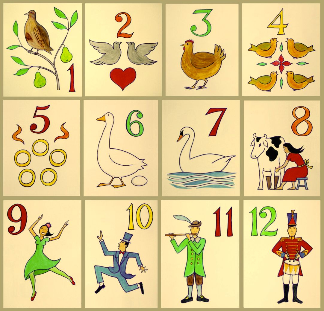 The Twelve Days Of Christmas (Song) – Wikipedia Regarding 12 Days Of Christmas Calendar