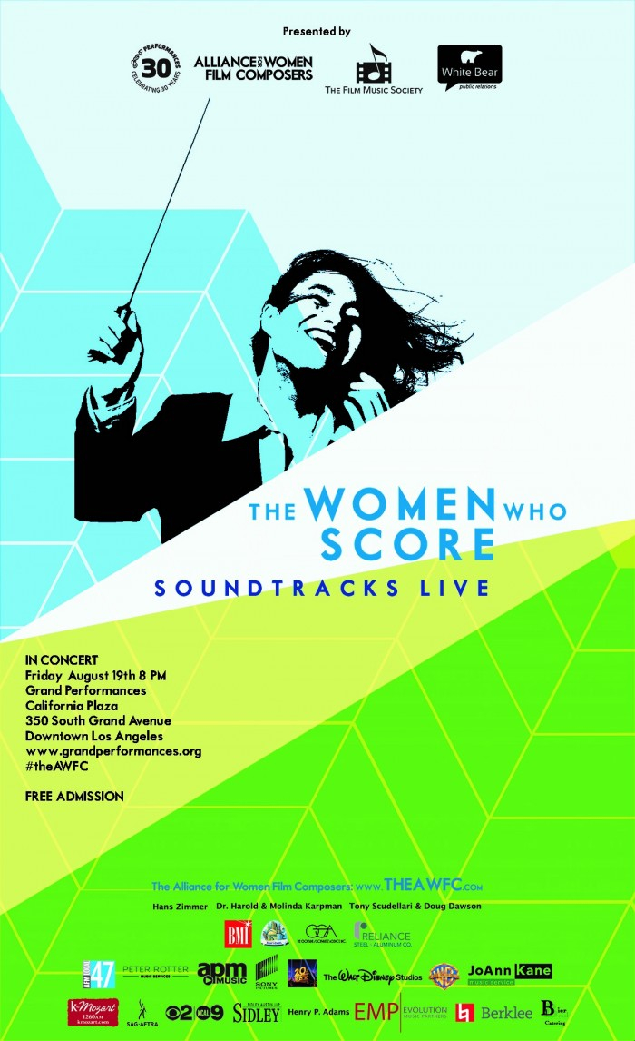 The Women Who Score: Soundtracks Live: Los Angeles: August With Regard To Live Musci Los Angeels Calendar