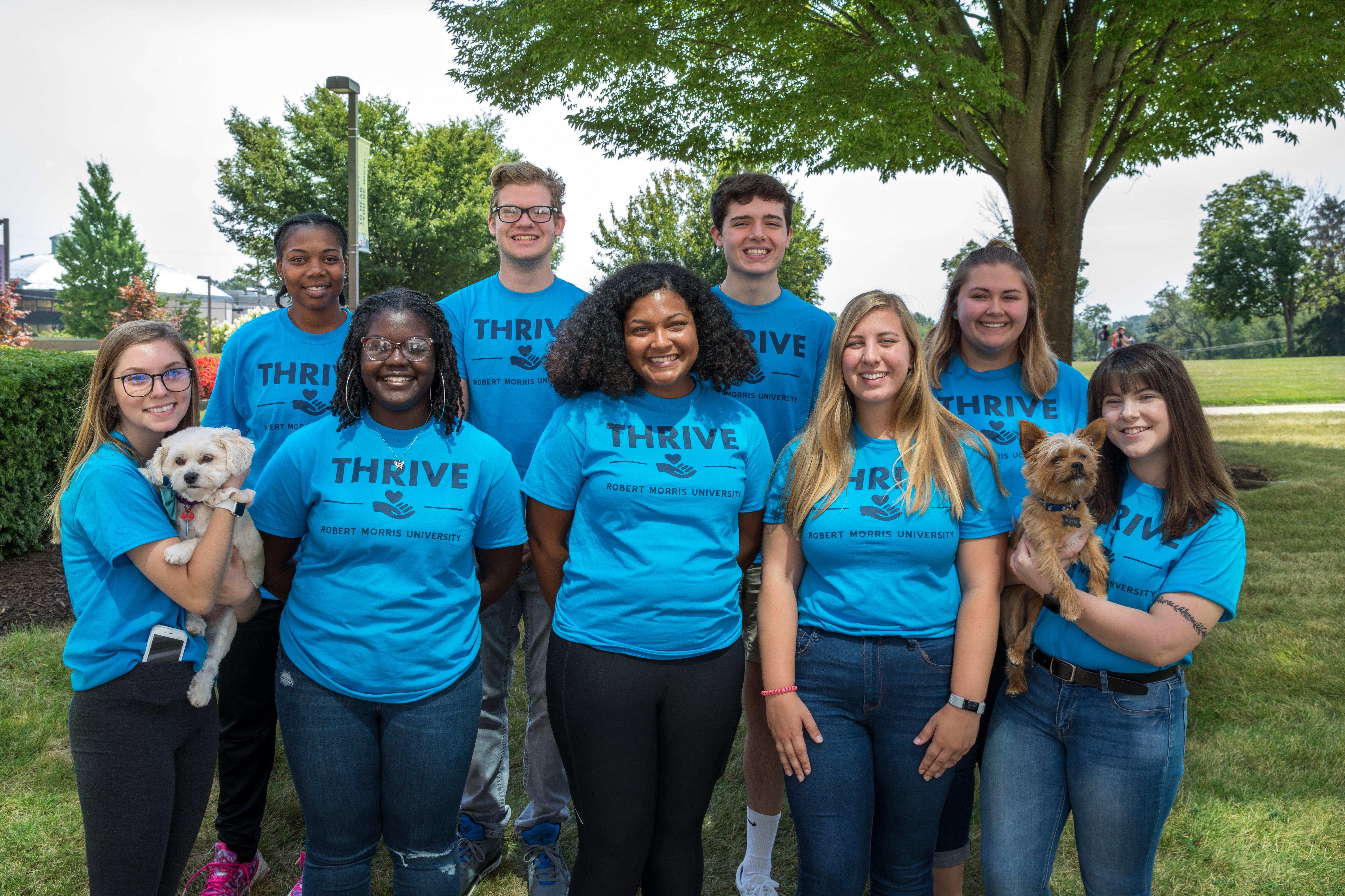 Thrive Program – Student Life Inside Robert Morris University Academic Calendar