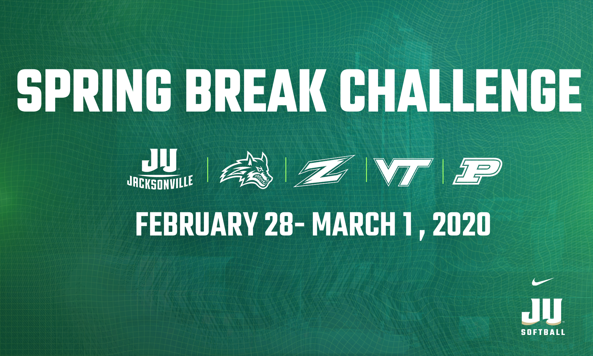 Tournament Preview: Spring Break Challenge – Jacksonville For University Of Akron Calendar Spring 2020