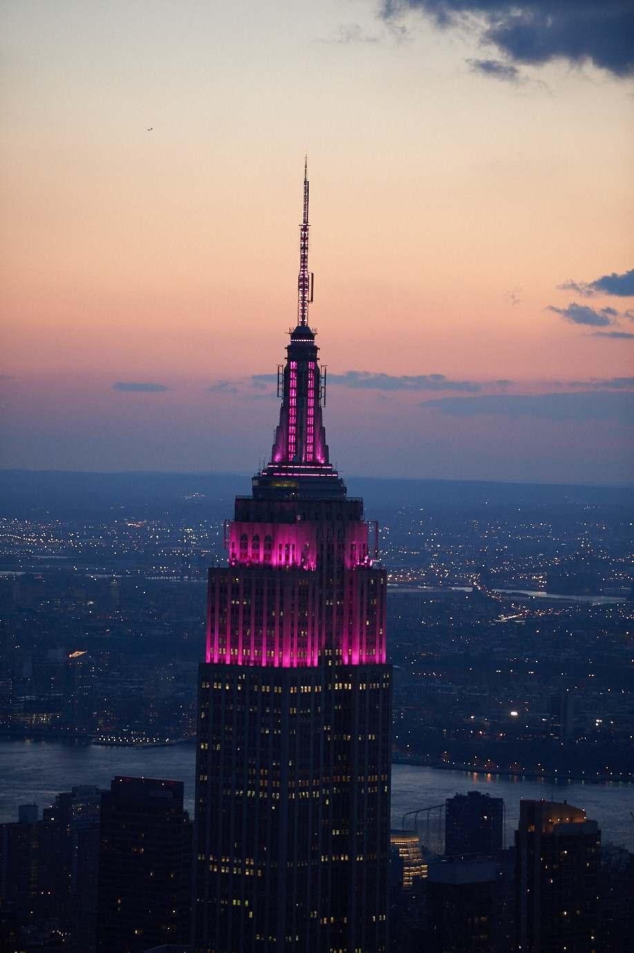 Tower Lighting 2019 03 08 00:00:00 | Empire State Building Regarding Empire State Building Lights Calendar