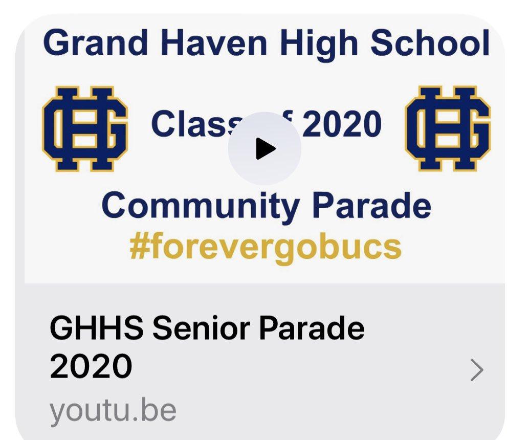 Tracy Wilson (@tracylnwilson) | Twitter Regarding When Does Grand Haven High School Start School 2020