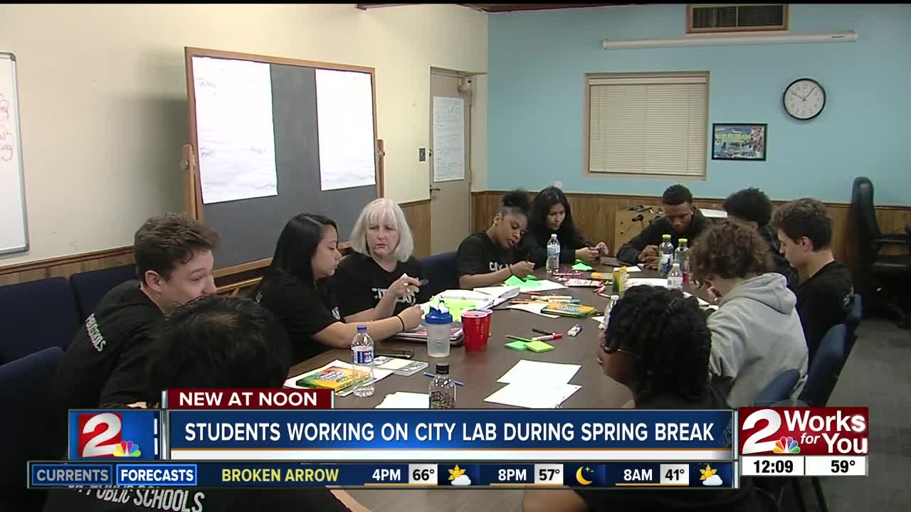 "Tulsa Public Schools Launches ""city Lab"" Pilot Program For With Broken Arrow High School Spring Break"
