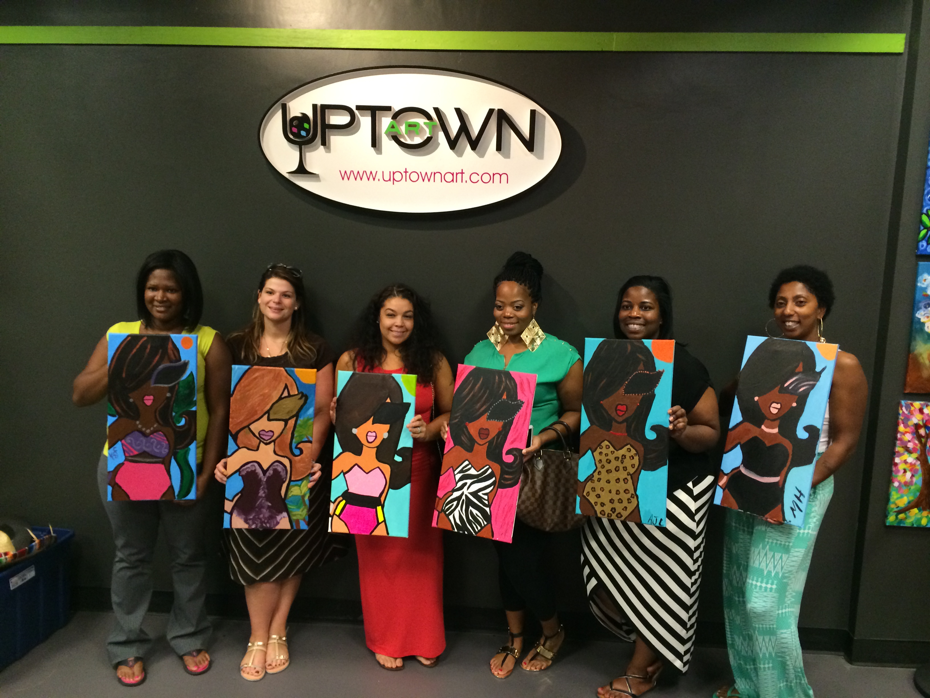 Twiggy Originals » Wine, Friends And Painting: A Twiggy In Uptown Art Louisville Calendar