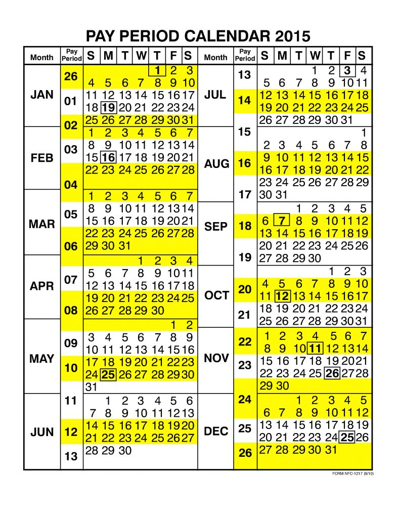Unique 49 Design Pay Period Calendar   Laboole For 2015 Pay Period Calendar Federal