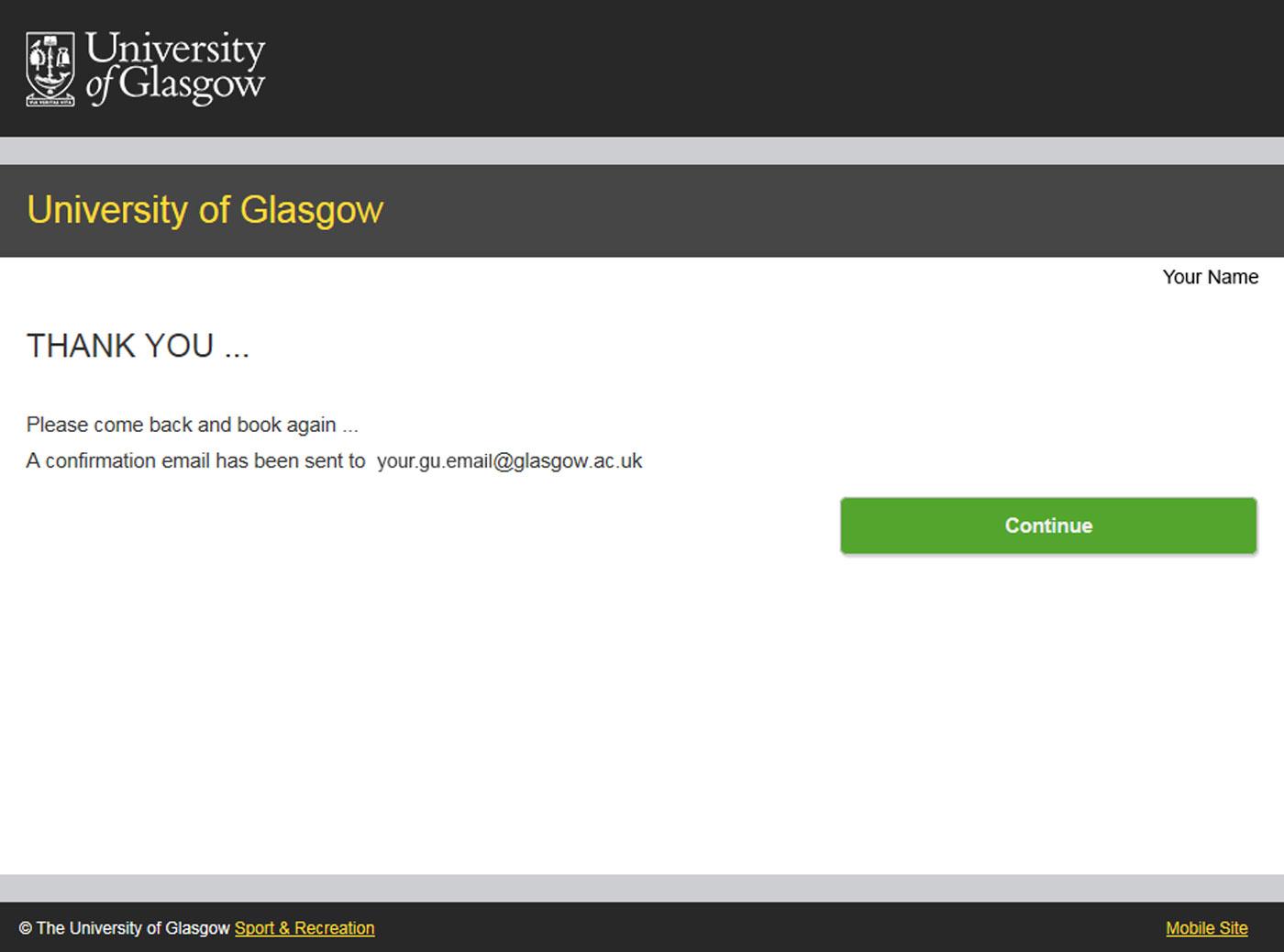 University Of Glasgow – Myglasgow – Sport – Classes Pertaining To University Of Glasgow Schedule A