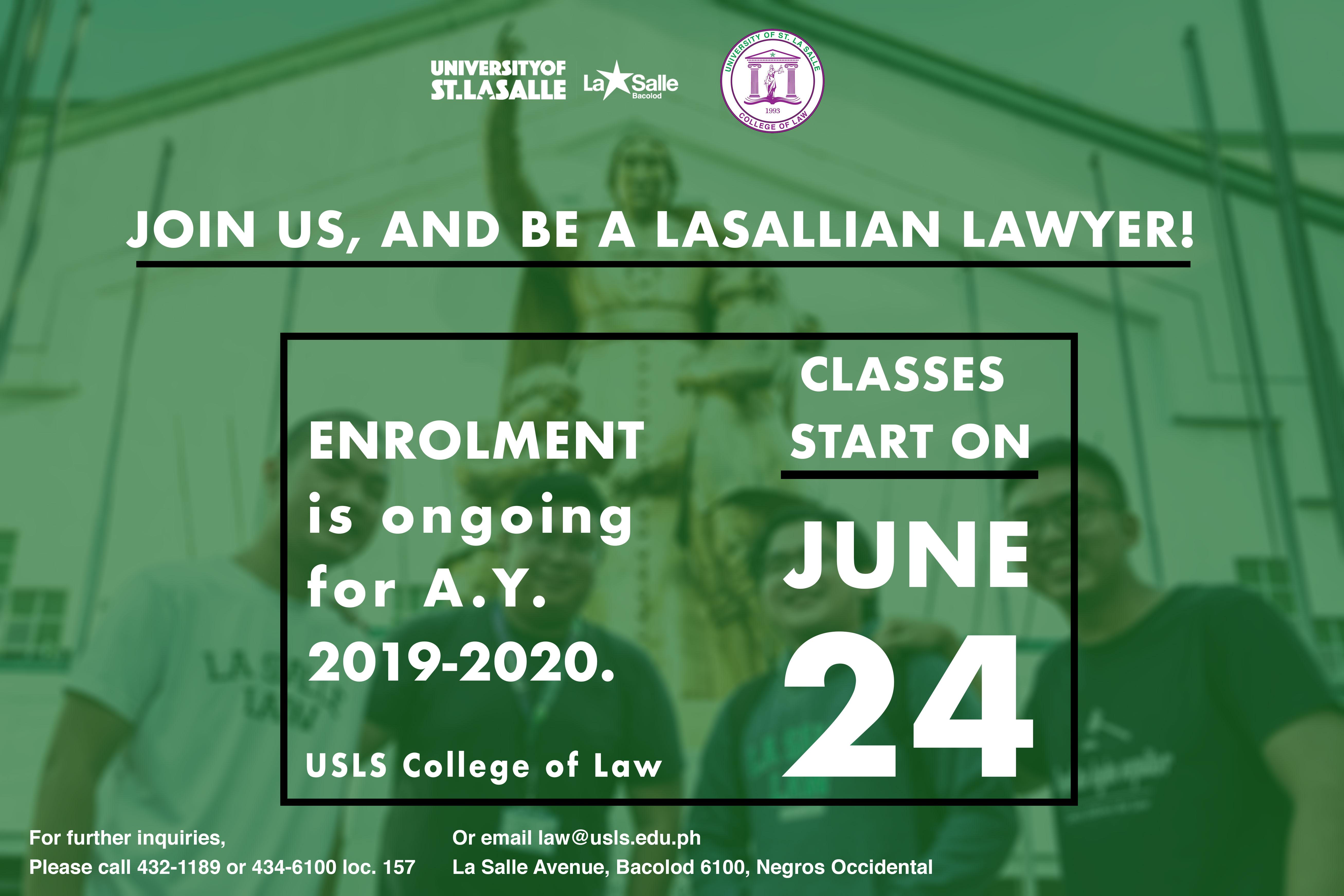 University Of St. La Salle Pertaining To Lasalle University Calendar 2021