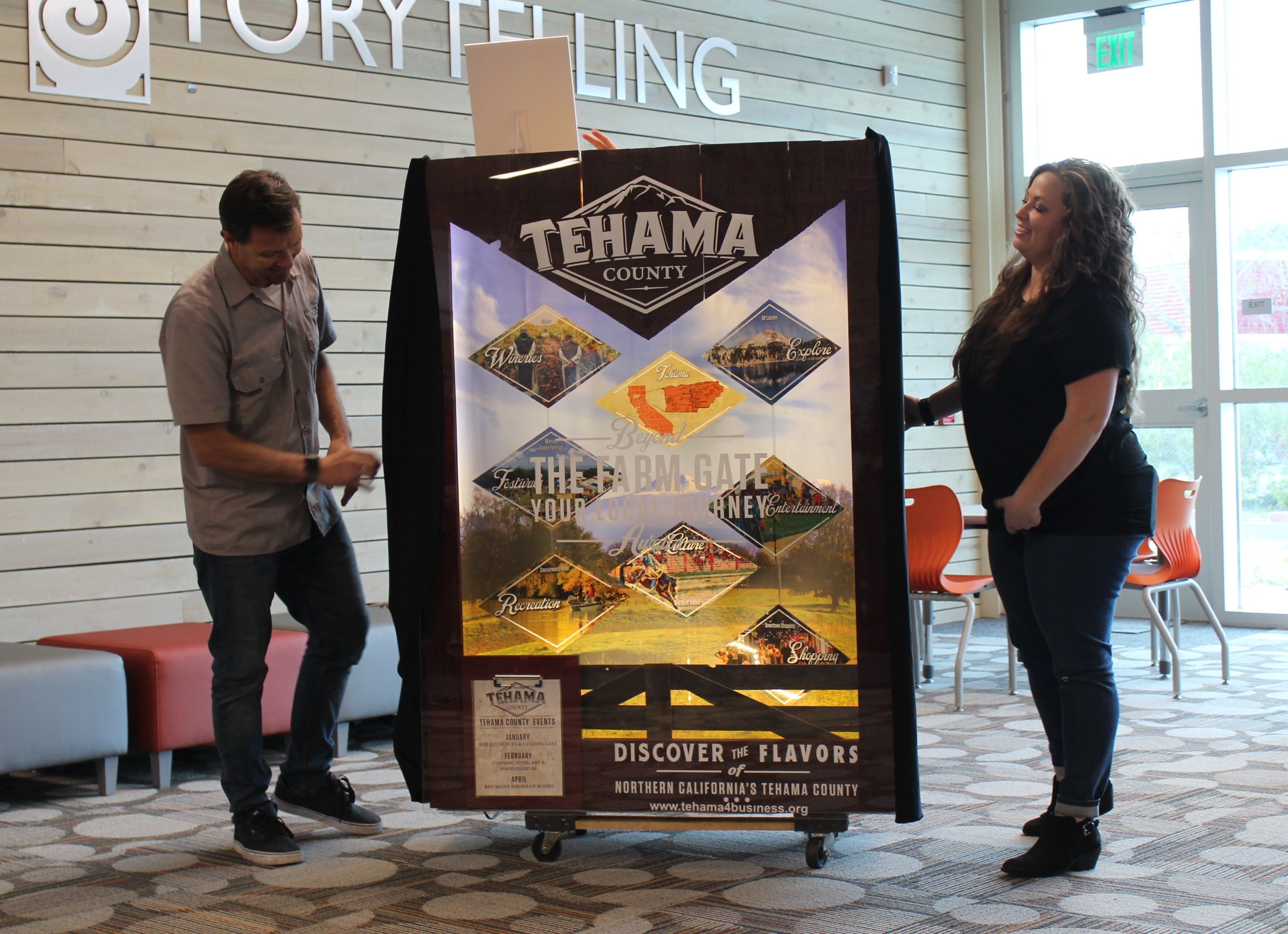 Unveiling Held At Library For New Tehama County Capitol Pertaining To Tehama County Court Calendar