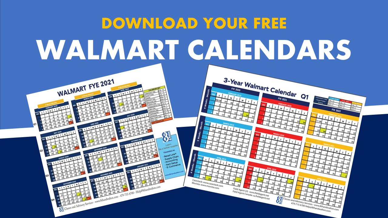 Walmart Fiscal Year Calendar | 2020 – 2021 | Free Download With Regard To 454 Retail Calendar 2020