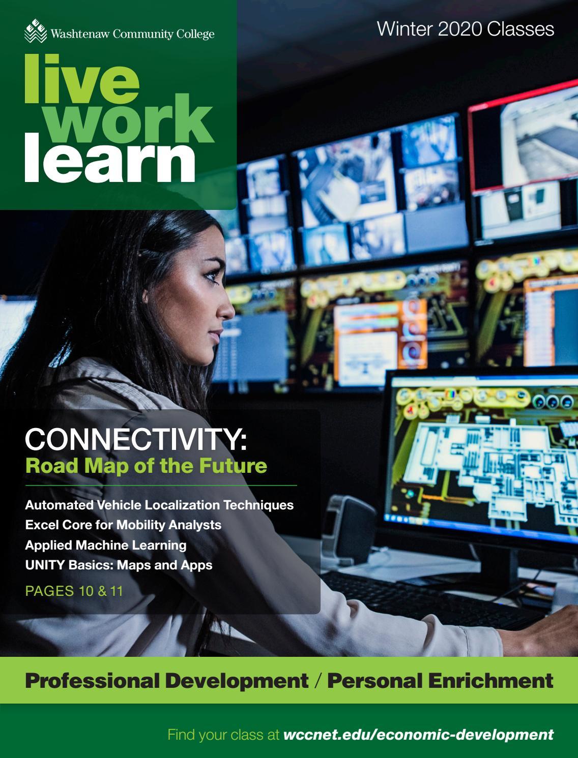 Wcc Ecd Brochure, Winter 2020Washtenaw Community College Regarding Washtenaw Community College Academic Calendar
