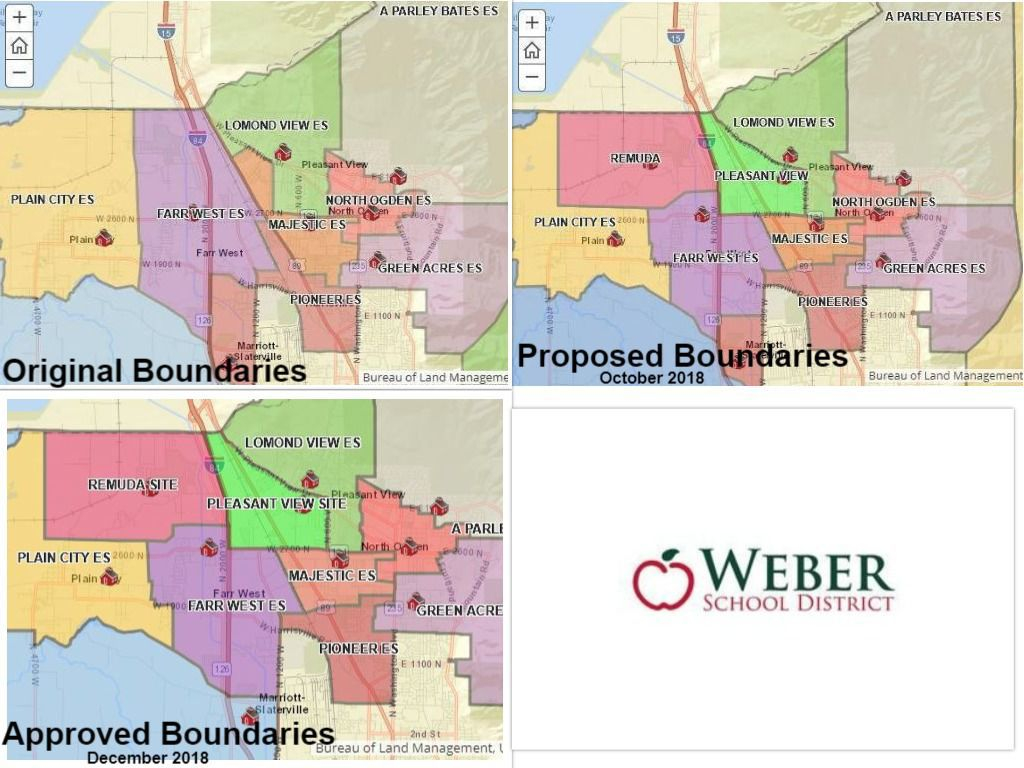 Weber School District Elementary Boundaries Changed To For Weber County School District Calendar