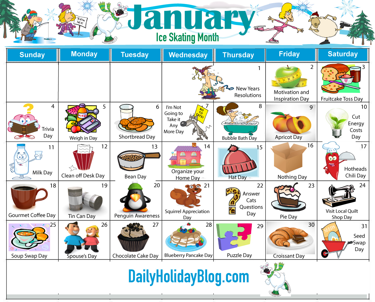 Weird Holidays – Nutheadsarah Inside Everyday Is A Holiday Calendar