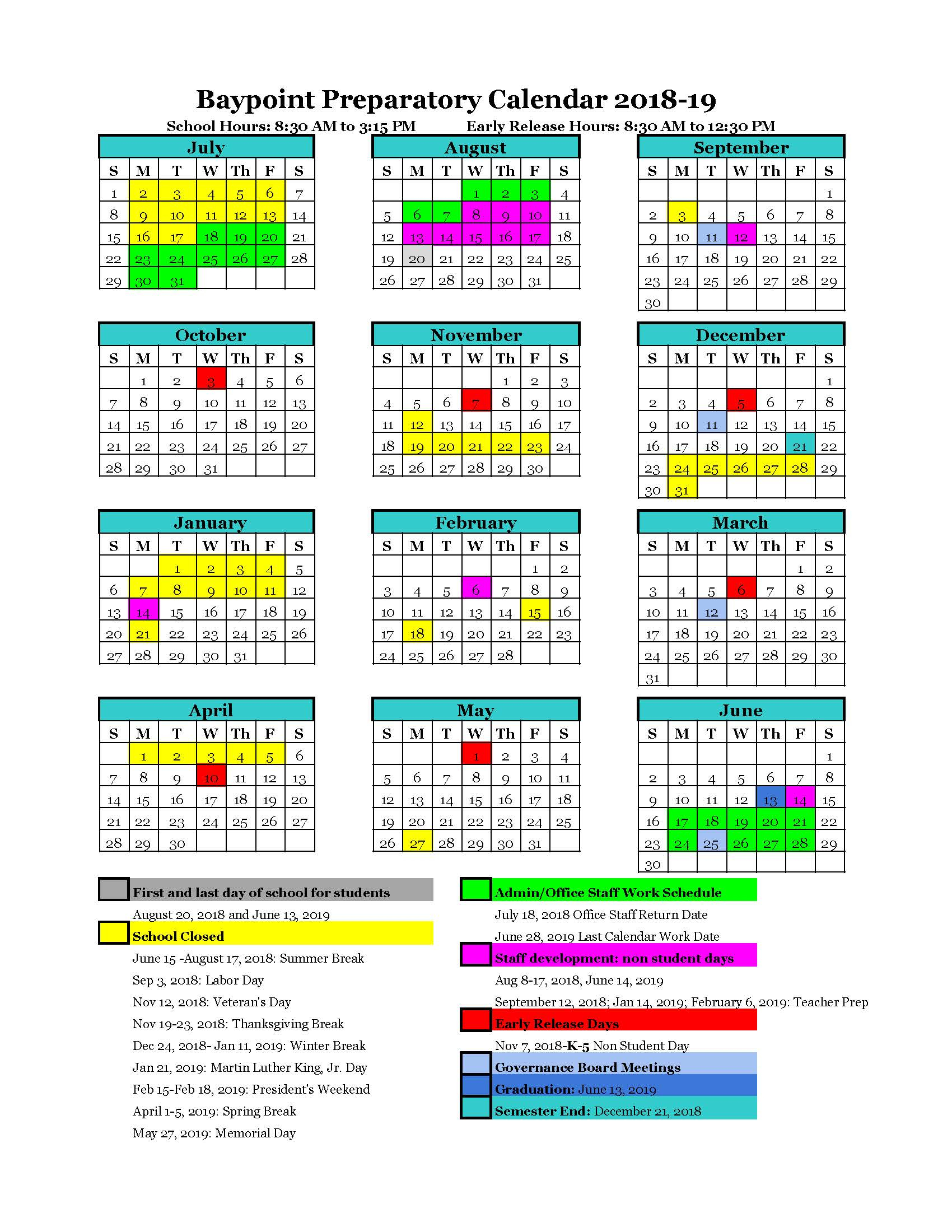 Welcome To The Campus Calendar Intended For San Diego Unified School District Calendar