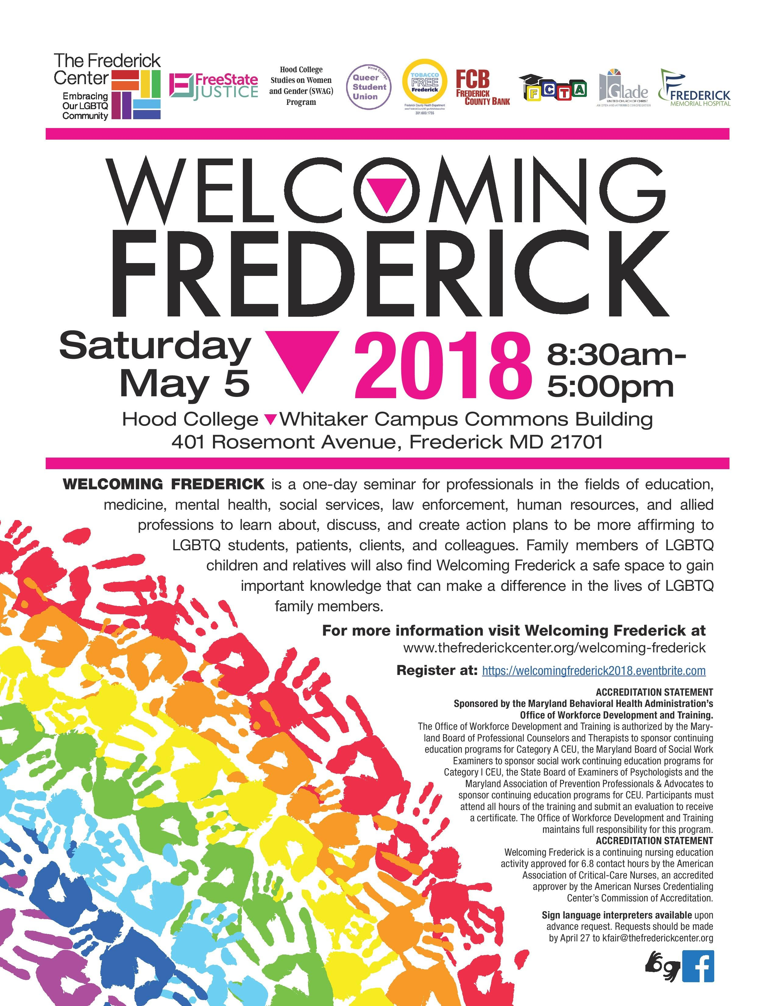 Welcoming Frederick – The Frederick Center Regarding Frederick Md Calendar Of Event