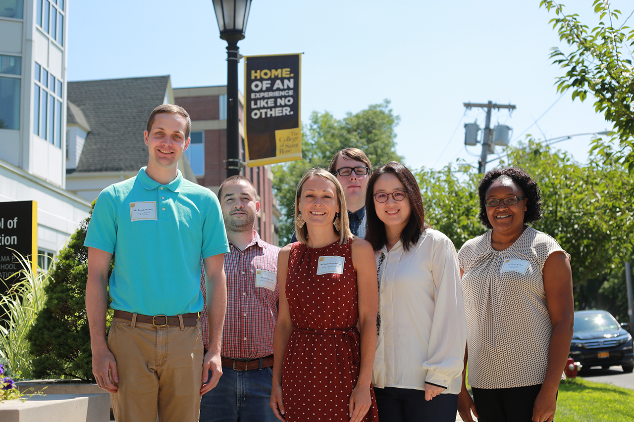Welcoming New Faculty To Saint Rose For 2019 2020 | The With Saint Rose Academic Calendar