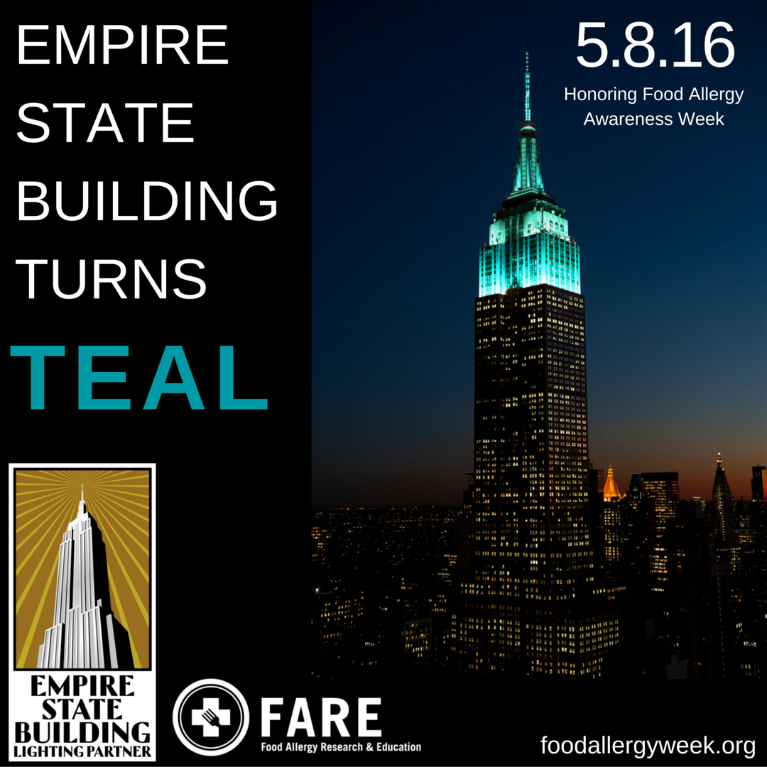 We're Thrilled To Officially Announce That On May 8, The Throughout Empire State Building Lights Calendar