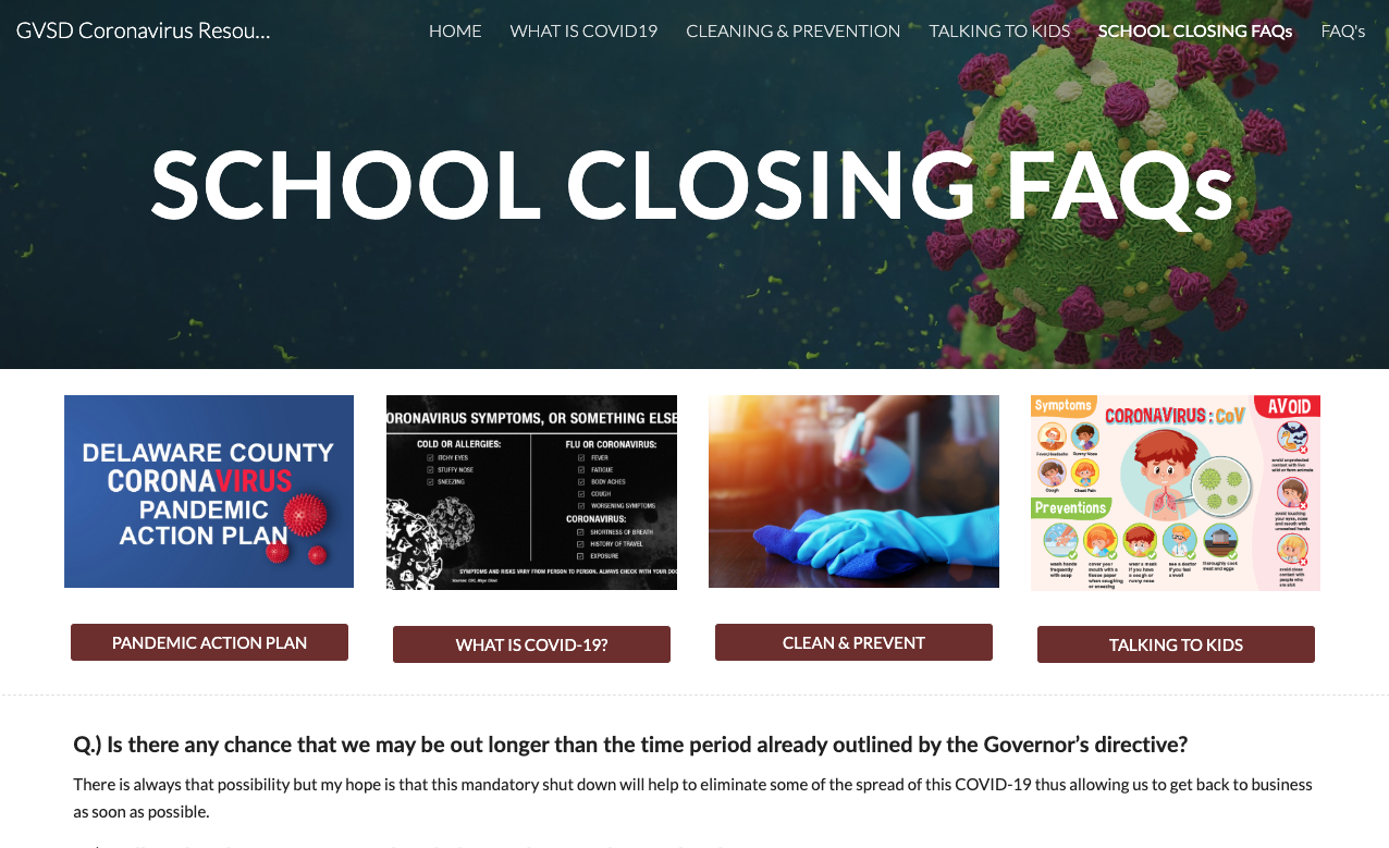 What's New – Garnet Valley School District Throughout Fall 2021 Calendar Delaware County Community College