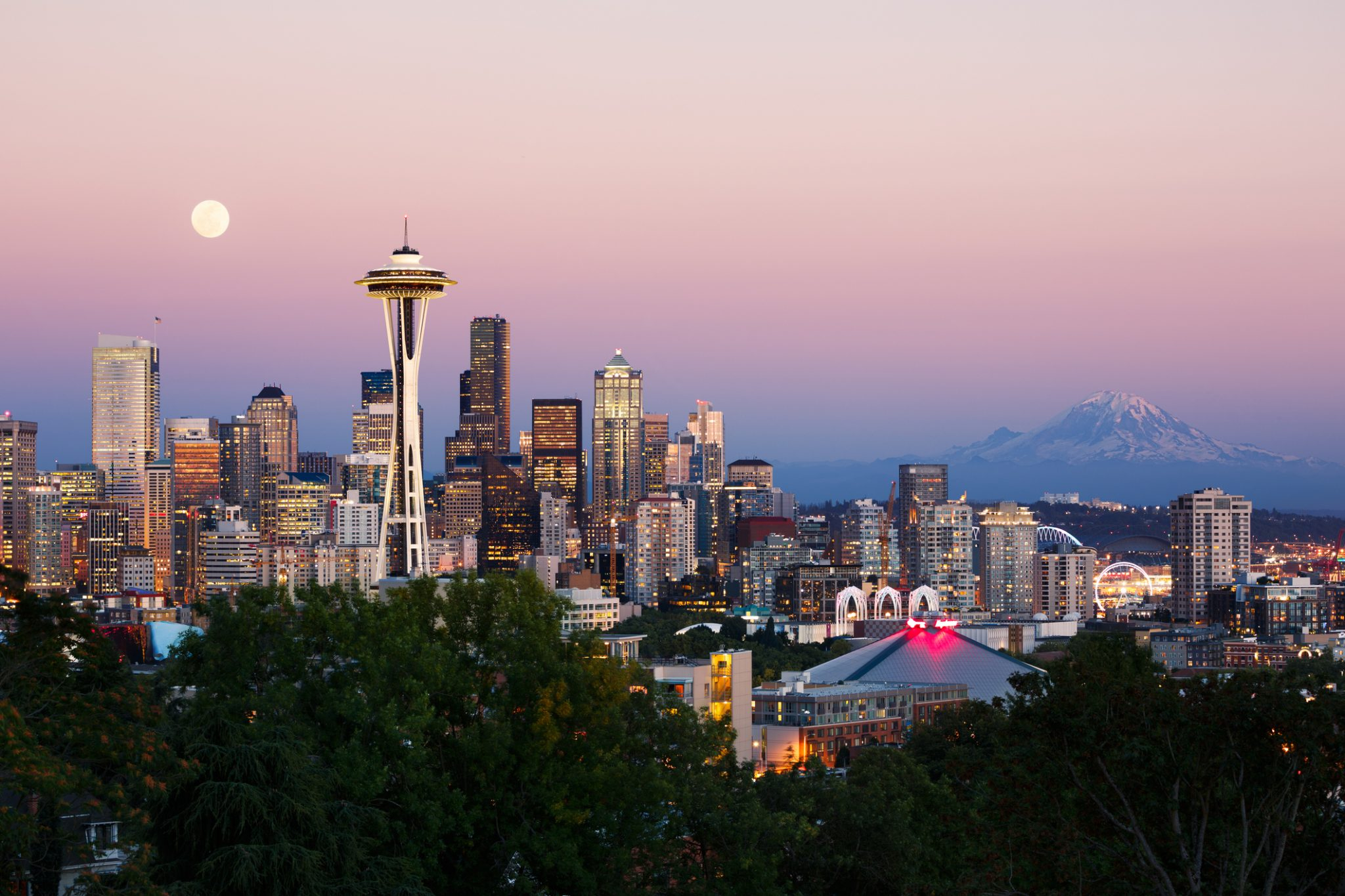 Where To Watch The Sunset In Seattle | Pan Pacific Seattle Intended For What Time Is Sunset In Zip Code 98446