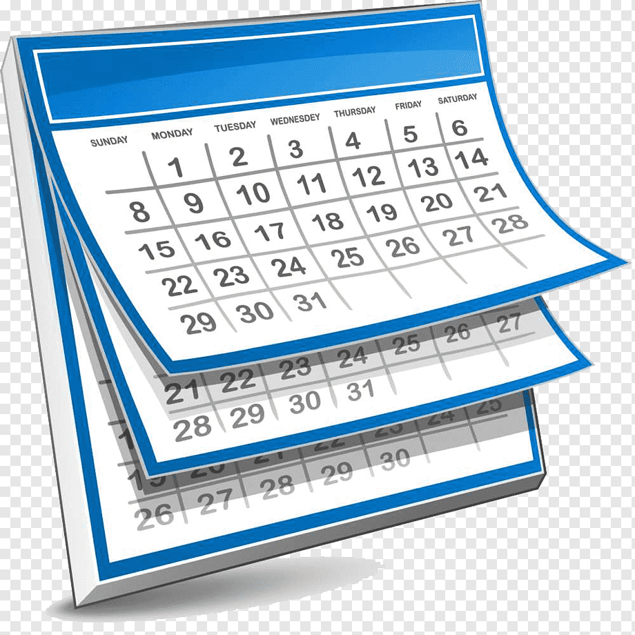 White And Blue Calendar Illustartion, Calendar Giphy Throughout Mifflin County School Calendar