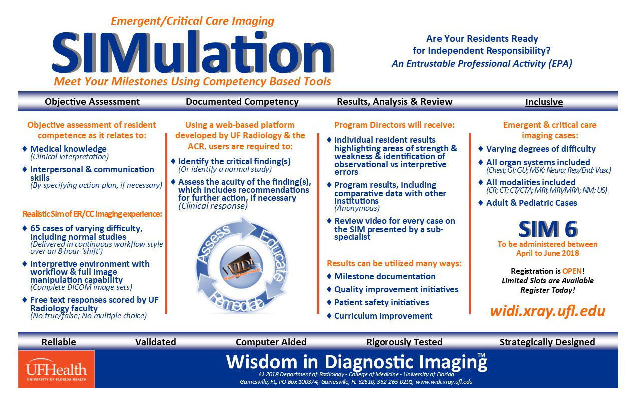 Widi Sim » Wisdom In Diagnostic Imaging » College Of With Acr Case In Point Calendar