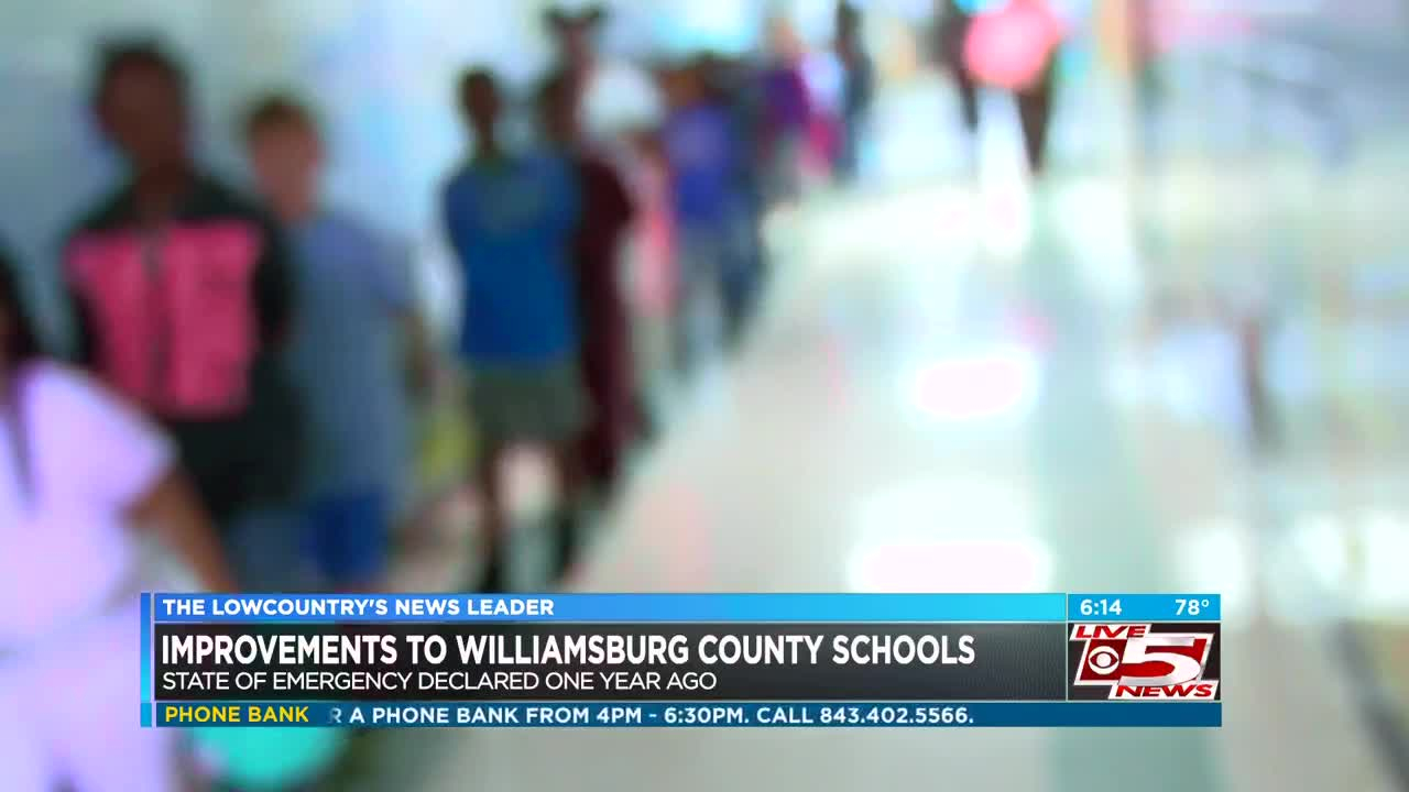 Williamsburg Co. School District Makes Major Improvements Inside Williamsburg County School District Calendar