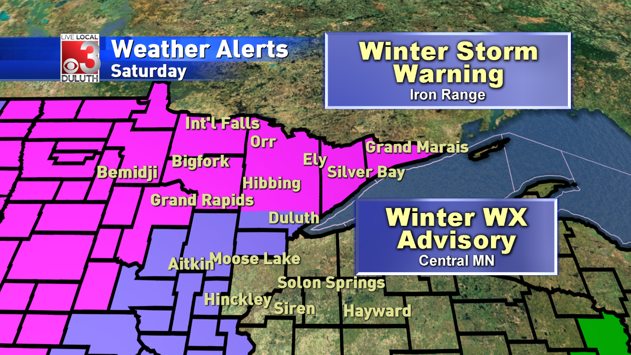 Winter Storm Warning This Weekend For Minnesota Inside Sixth Judicial Circuit Calander St.louis County Hibbingmn