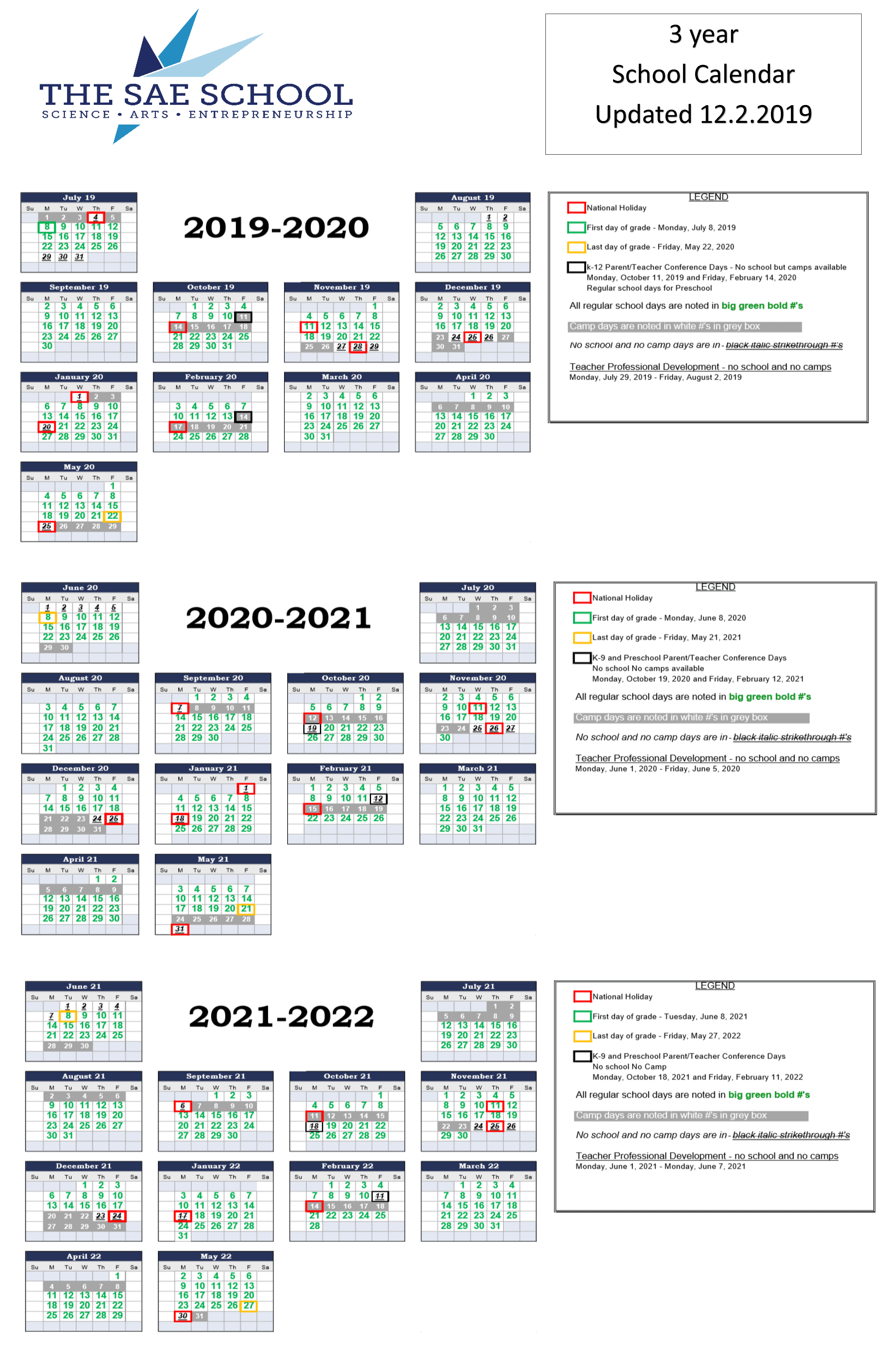 Year Round Calendar – The Sae School With Fayette County Georgia School Calendar 2021