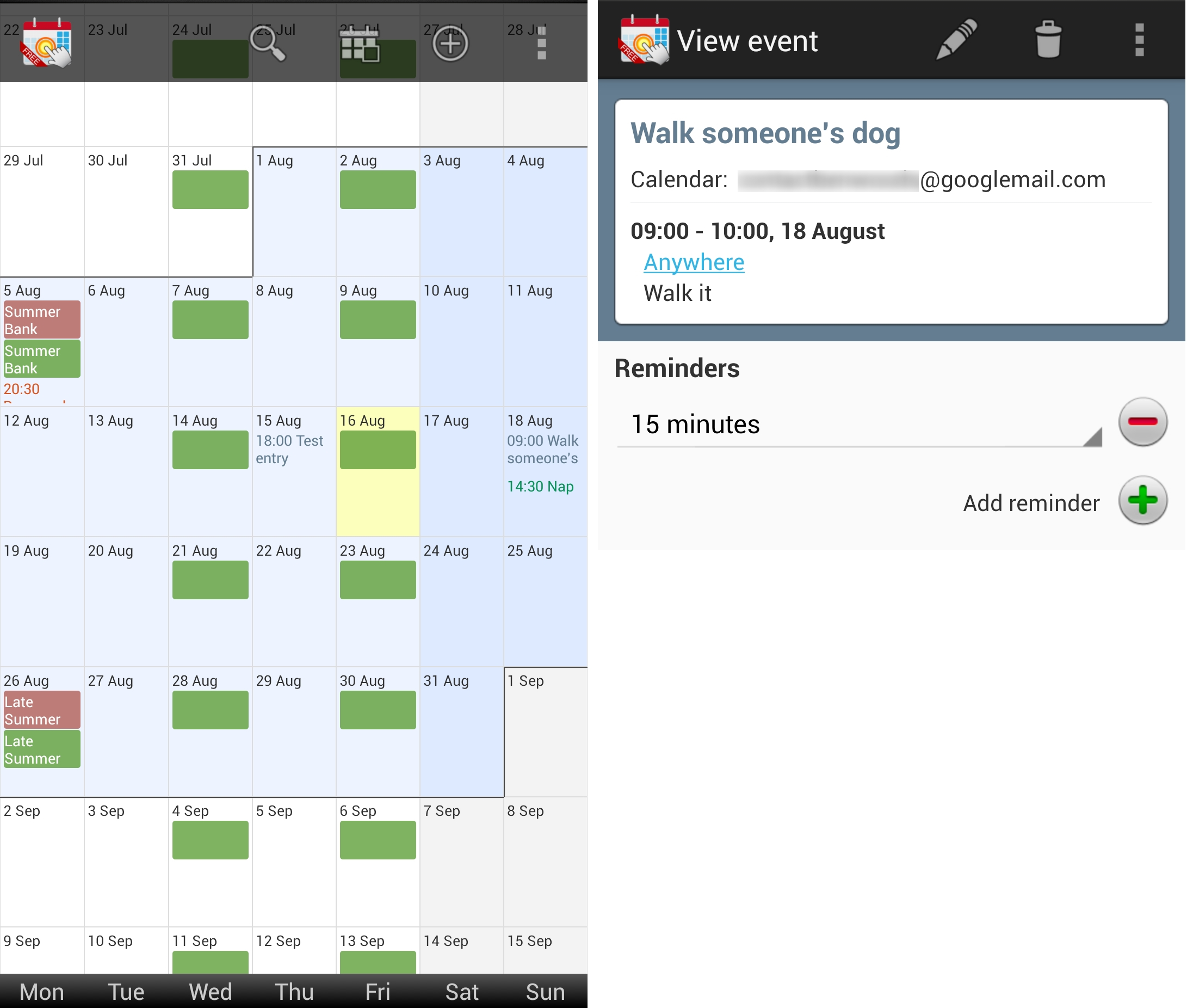 12 Of The Best Calendar Apps Available For Your Android For Yahoo Calendar App Android