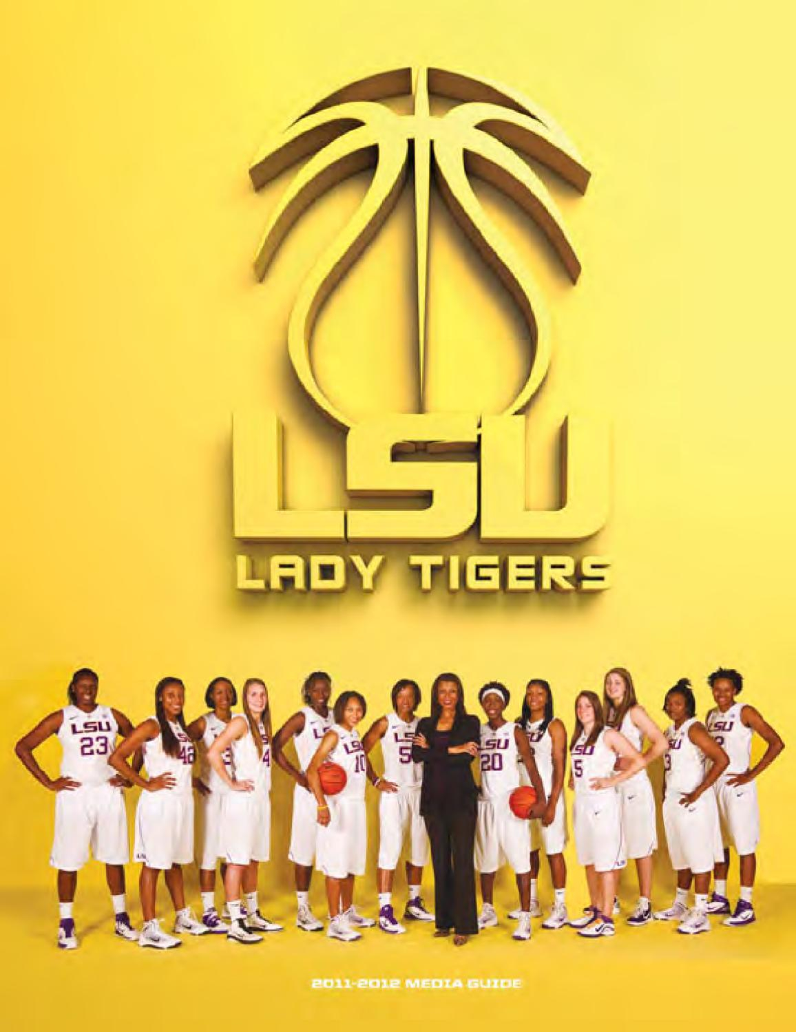 2011 12 Lsu Women's Basketball Media Guidelsu Athletics Regarding 3Rd & Lindsley Nashville Calendar 2021 18