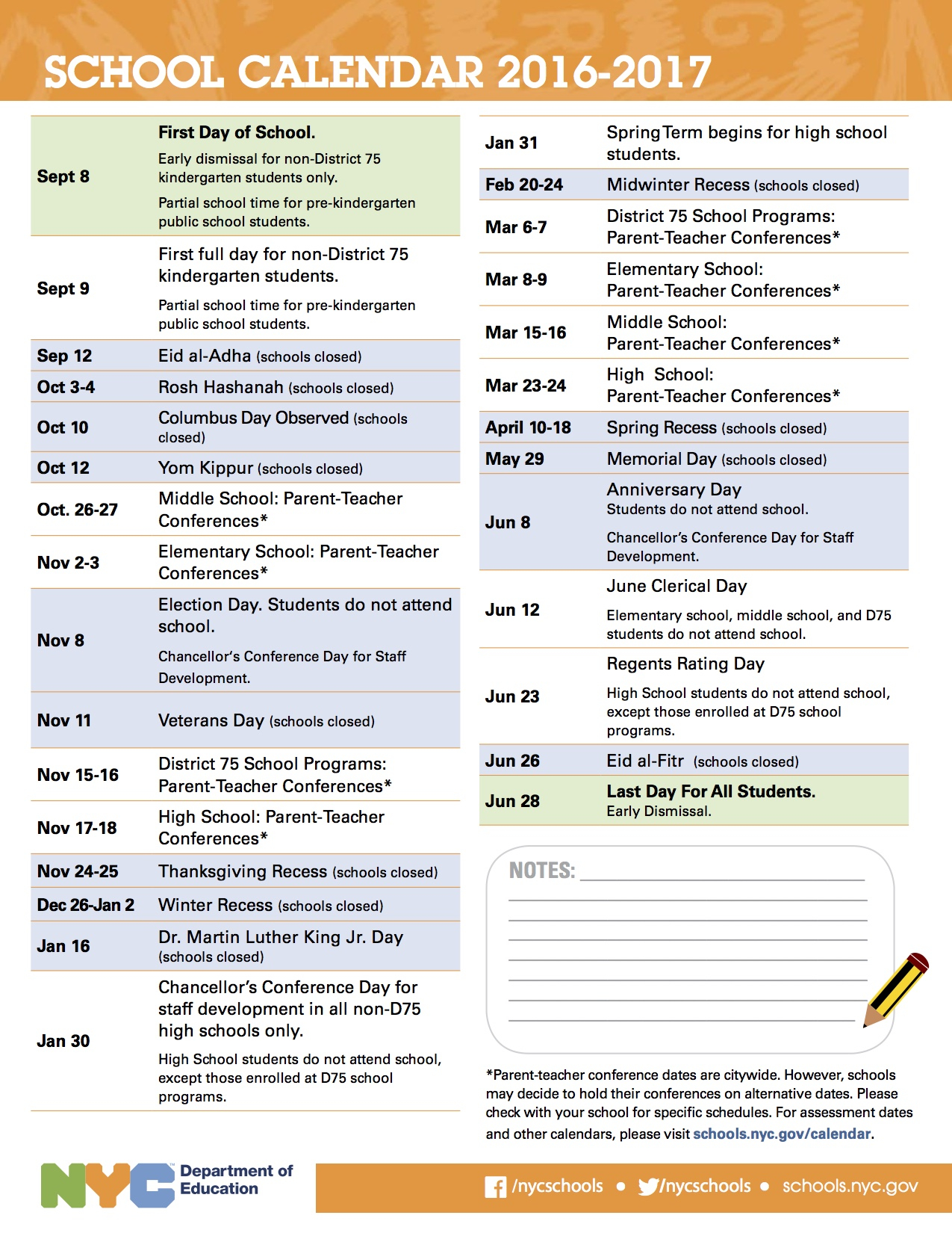2016–17 School Year Calendar Is Now Available | Public With Nyc Dept Of Ed Calendar