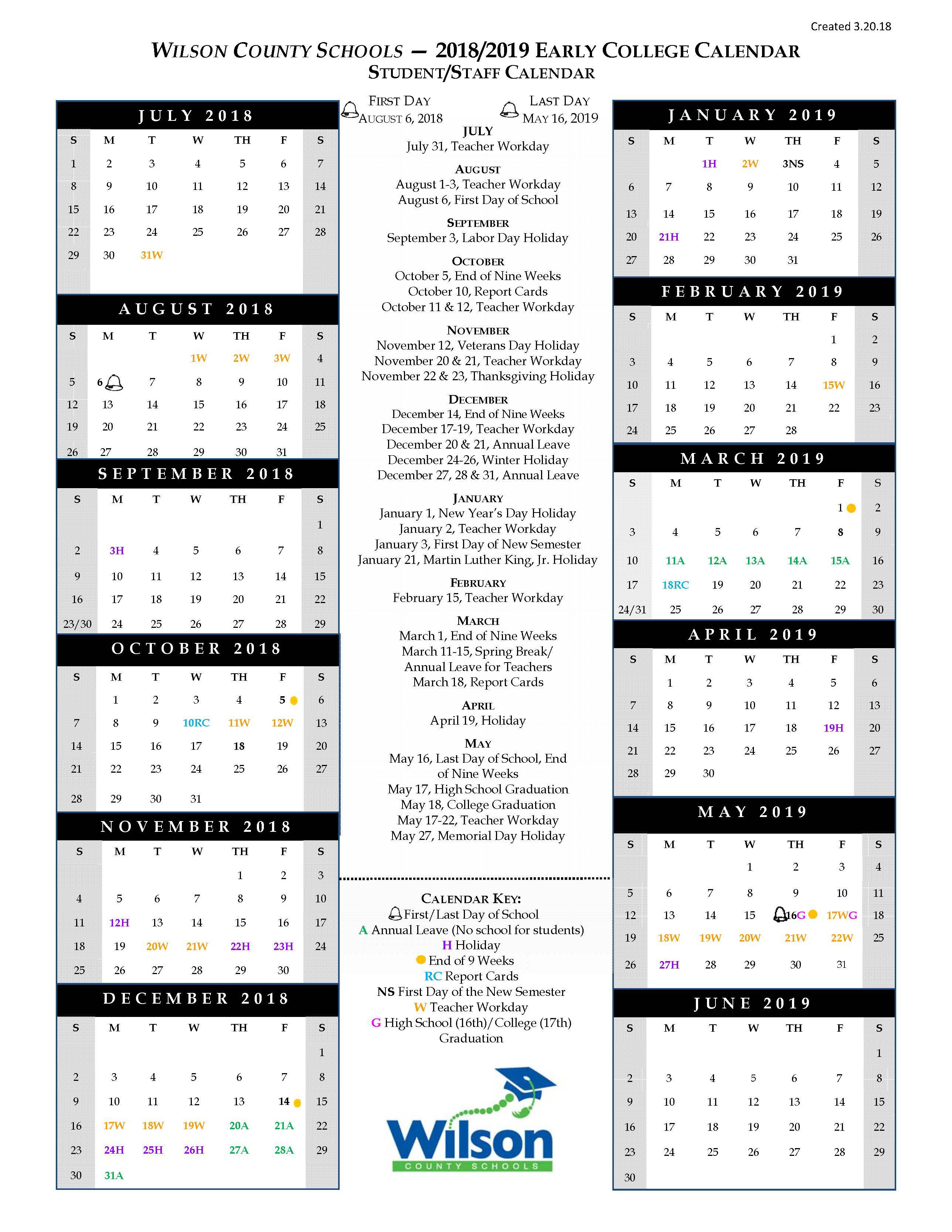 2019 Waat Student Application – Forms & Documents – Wilson With Wilson Nc Schoold Calendar