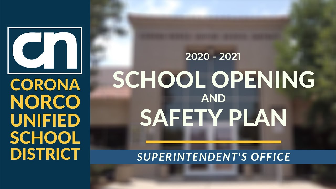 2020 2021 School Opening And Safety Plan – Home Regarding Corona Norco Usd School Calendar 2021