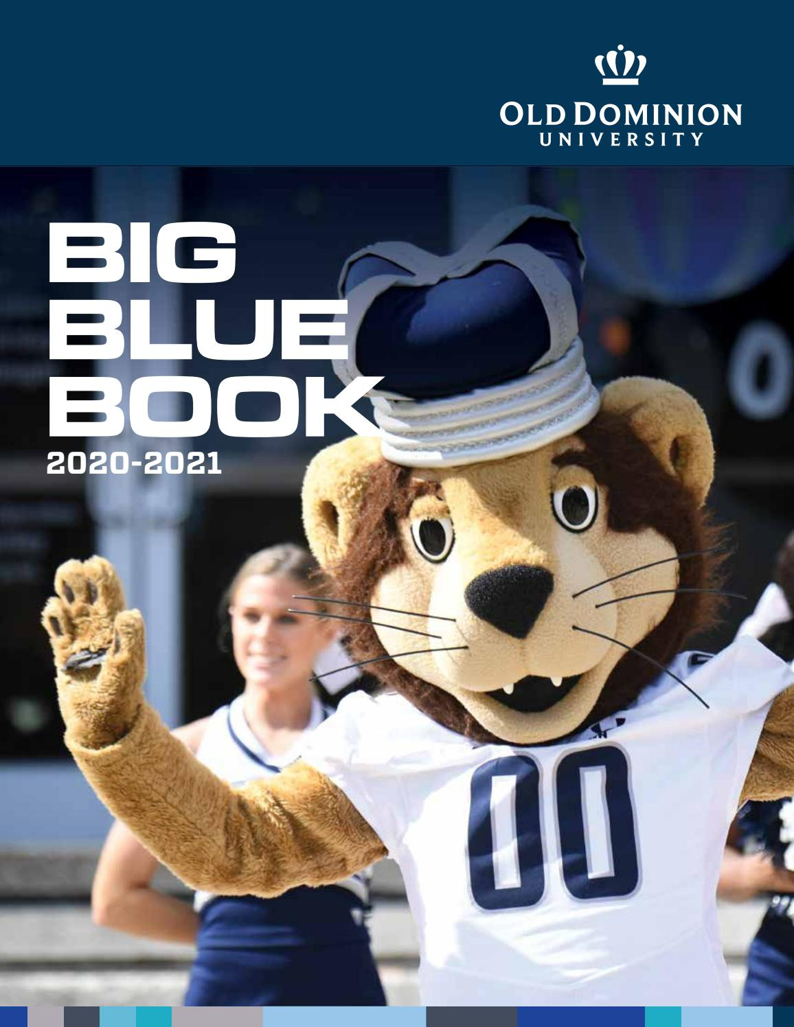 2020 Big Blue Bookold Dominion University – Issuu Within Old Dominion University Calendar 2021