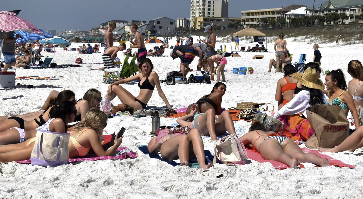 28 University Of Texas Spring Breakers Who Flouted Public With Tampa University Spring Break