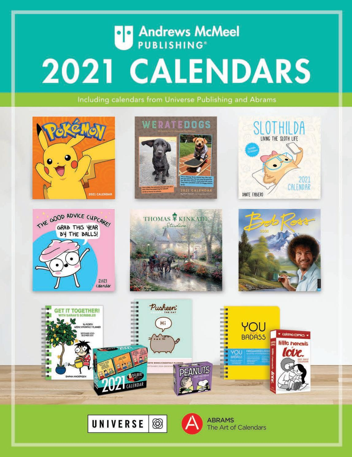 Andrews Mcmeel 2021 Calendar Catalogandrews Mcmeel inside Mifflin County School Ddistrict Calendar 2021-2020