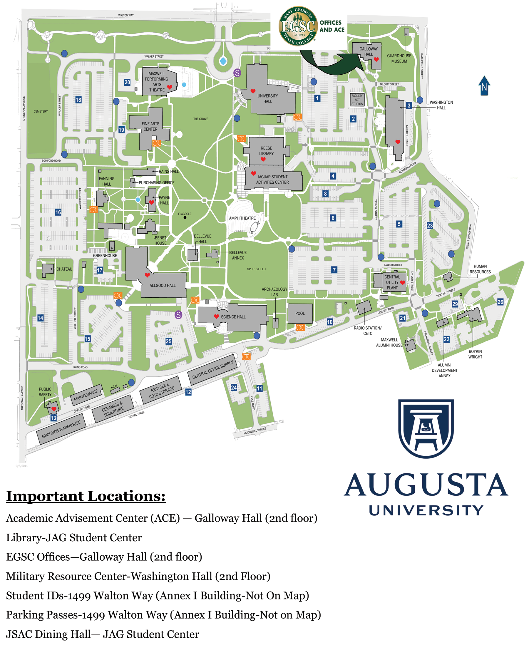 Augusta – East Georgia State College With Georgia State University Academic Calendar