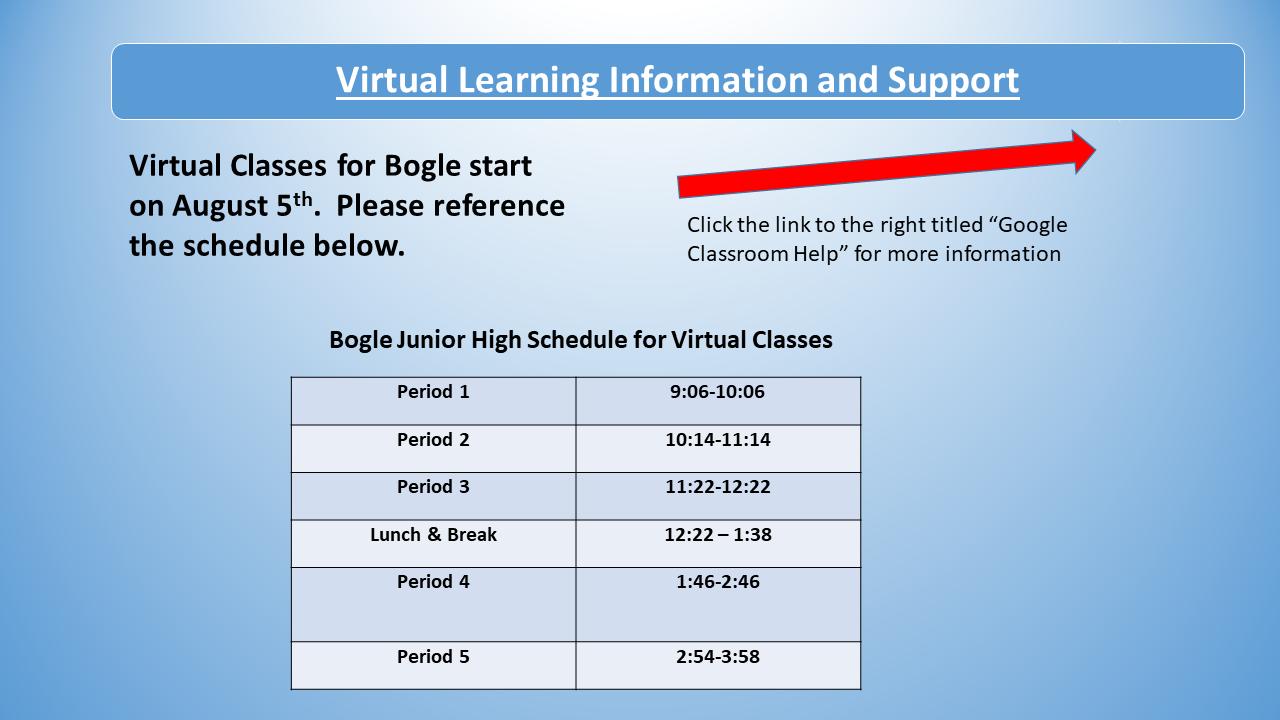 Bogle Junior High / Overview For Fulton Ny School District Athletic Calendar
