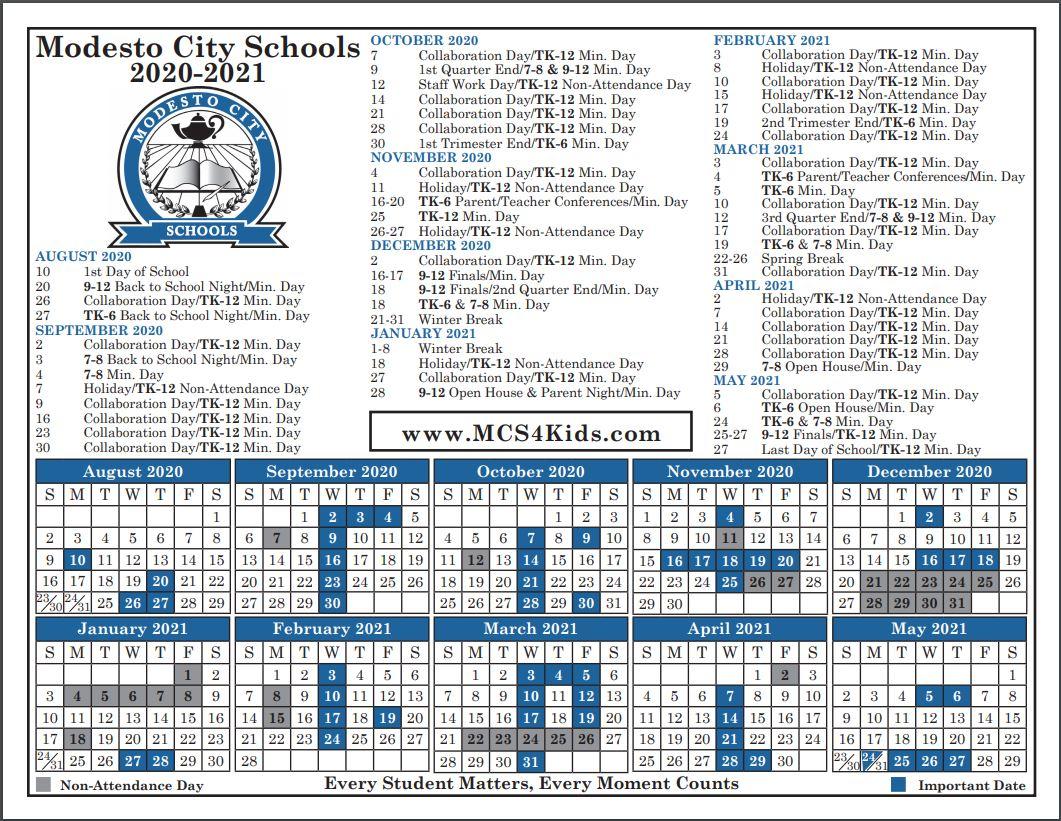 Burbank Elementary School Inside City Of Merced School District Calendar