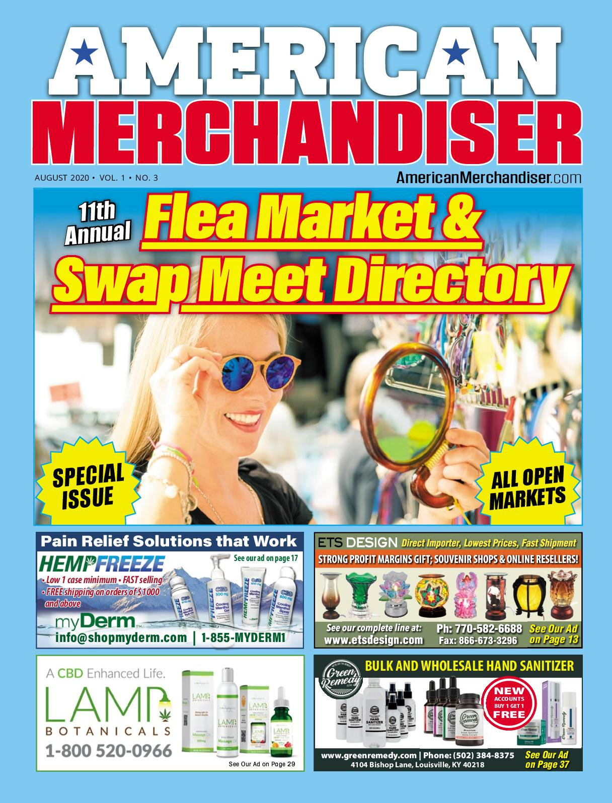 Calaméo - American Merchandiser August 2020 in Ripley Ms Flea Market Schedule 2021